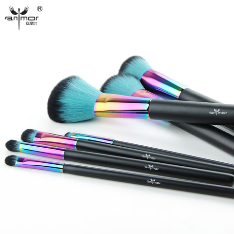 Makeup Brush Set New Colorful Pinceaux Maquillage Beautiful Powder