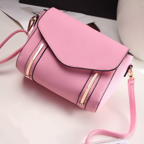 Embossed Shoulder Bag Casual Women