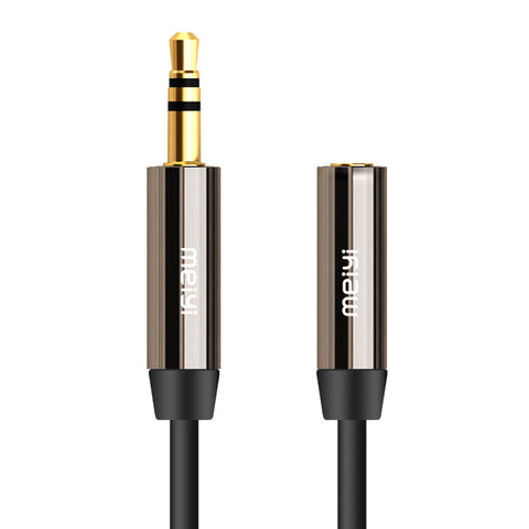 Aux Audio Cable Male to Female Aux Extension Cable Gold Plated Auxiliary