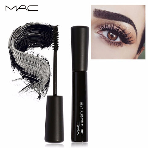 Black Curling Eye Lashes Mascara Waterproof Long Fiber Mascara Makeup