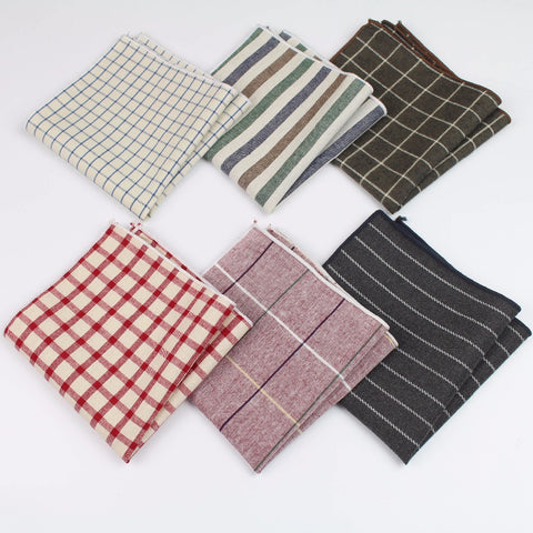 Handkerchiefs Printing Colorful Pocket Square Hankies Business Casual