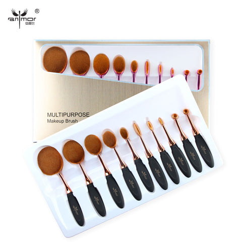 Makeup Brush Set Multipurpose Powder Eyeliner  Eyebrow  Foundation