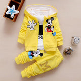 3 suits baby clothes bebes kids clothing sets