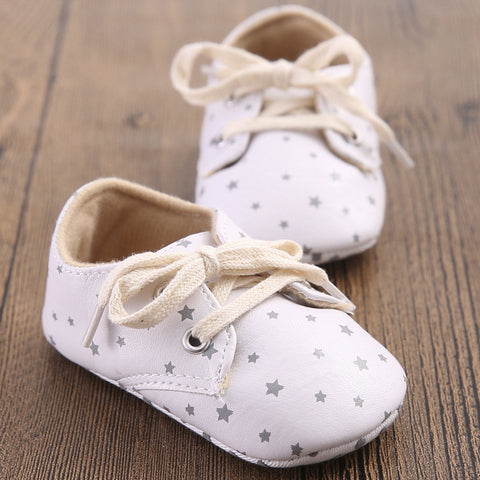 Babe Star Pattern Handsome Retro Shoes Boots