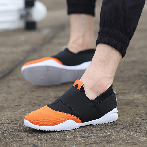 Casual Shoes Brand Shoes Male Summer Canvas Shoes