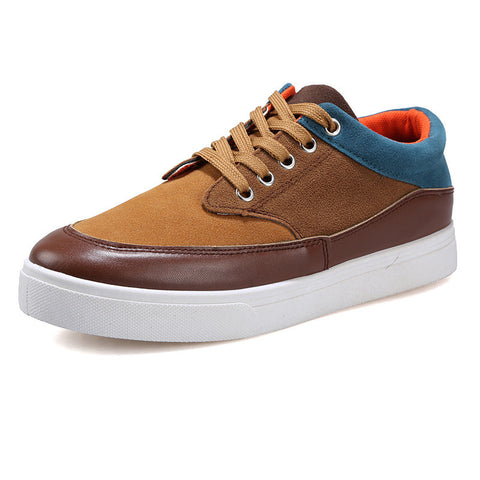Genuine Leather Shoes Rubber Summer Men Casual Shoes Breathable