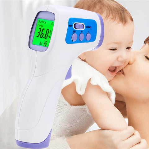 Baby/Adult Digital Termomete Infrared Forehead Body Thermometer