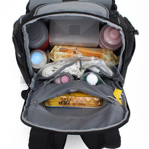 Portable multifunctional baby diaper bag baby large storage