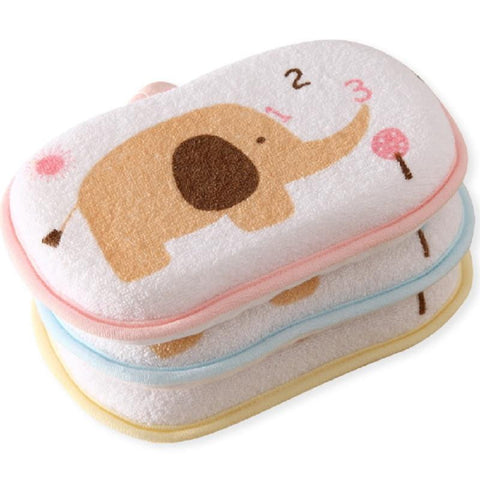 Baby towel accessories Infant Shower Sponge