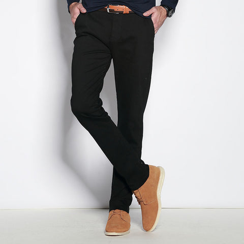 casual pants men brand clothing high quality cotton
