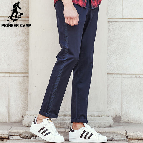 brand clothing male fashion casual trousers top quality autumn spring men
