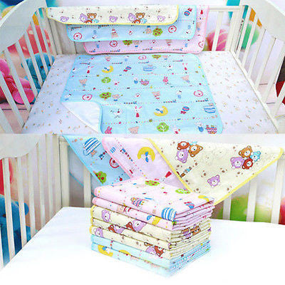 Waterproof Bedding Changing Nappy Cover Pad New