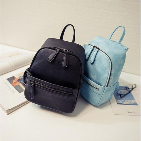 Backpack School Bag Casual casual travel backpack women leather bag