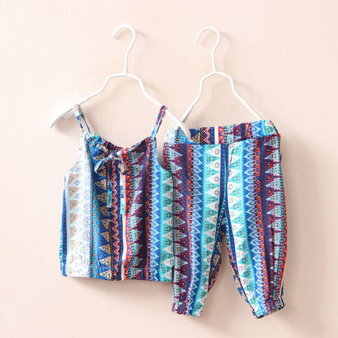 Baby Girls Clothing Sets Vest and  Pants