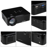 BL35 HD TV Home Cinema Projector HDMI LCD LED Game PC Digital Mini Projectors Support 1080P Proyector 3D Beamer