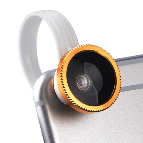 3 in1 Clip + Fish Eye + Wide Angle + Macro Mobile Phone Camera Lens