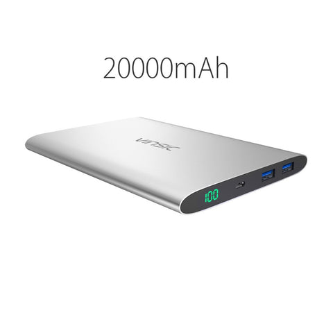 20000mAh 15000mAh 12000MmAh Power Bank Dual USB External Battery