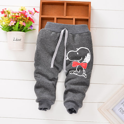 cartoon style harem pants baby pants