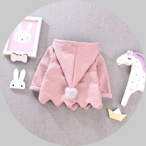 babys girls autumn and winter Outerwear