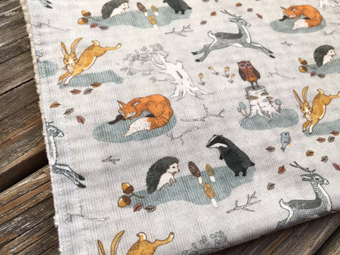 Burp Cloth ~ Animals//Forest