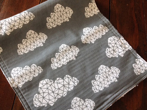 Burp Cloth ~ Geometric//Tribal