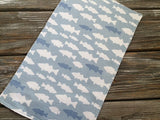 Burp Cloth ~ School//Blue