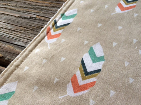 Burp Cloth ~ Geometric//Nature