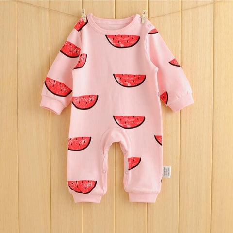 baby clothing cartoon baby girl rompers