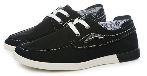Fashion brand man shoes Canvas men's shoes For Men