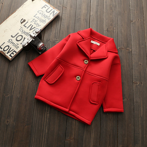 Autumn Girls & Boys Jacket Overcoat