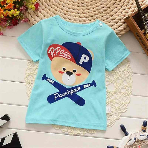 T shirt Short Sleeve 100% Cotton Casual tees