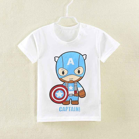 Fashion Boys T-Shirts Children Cotton