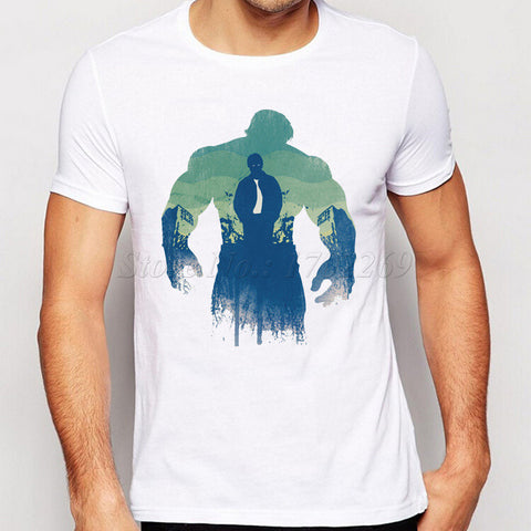 Avengers Catoon Characters Printed Men T-Shirt The Hulk Winter Solider