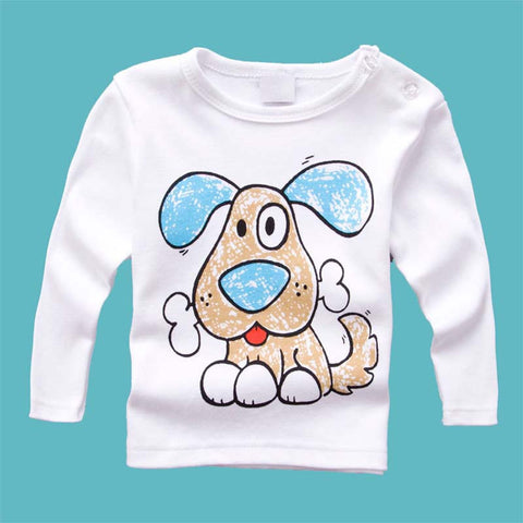 8 Animal Character Long sleeve t shirts