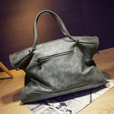 Leather Handbag Fashion Tassel Messenger Bag Vintage Shoulder Bag