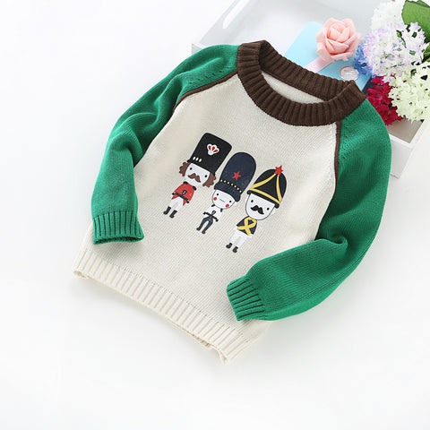 winter children's clothing cotton sweater