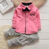 Boys long shirt + pants gogging sweatshirt casual clothes