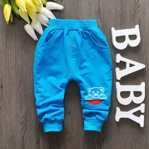Bear autumn baby pants