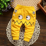 Monster autumn baby pants