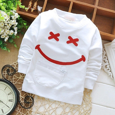 Baby Toddler Kids Boys&girls Cotton Smiling Face