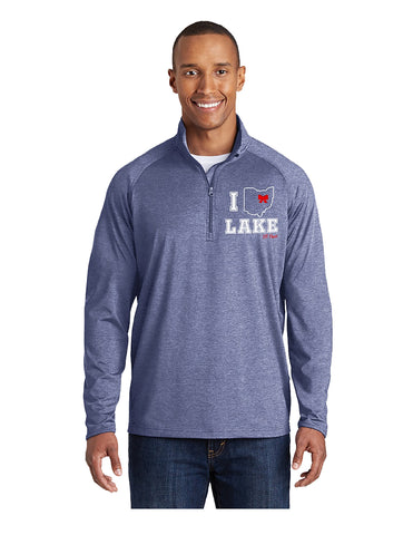 Dry Fit 1/2 Zip Performance Pullover-Cheer Logo