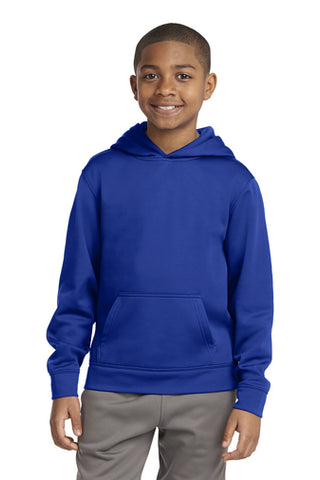 Lake Express Youth Dry-Wick Fleece Hooded Pullover