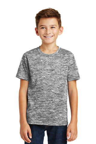 Lake Express Youth Dry-Wick Electric Heather Tee