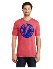Adult Perfect Tri-Blend Crew Tee - Circle Logo