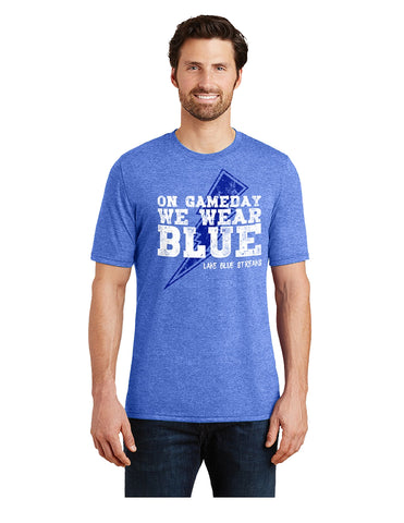 Adult Perfect Tri-Blend Crew Tee - Game Day