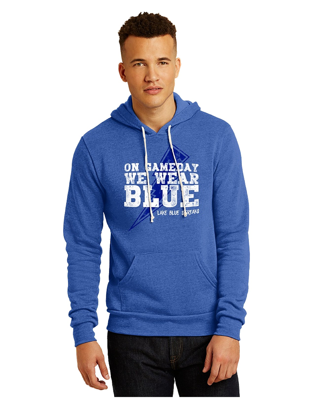 Triblend Fleece Pullover Hoodie - Game Day