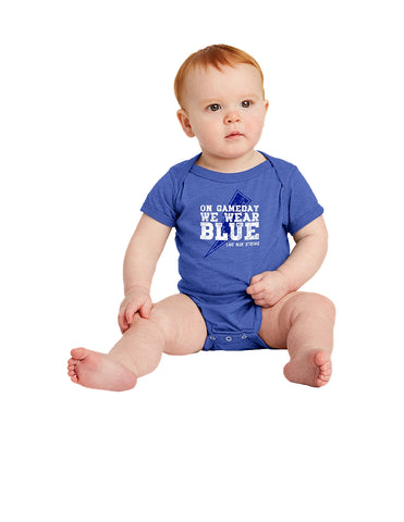 Infant Triblend Onesie - Game Day