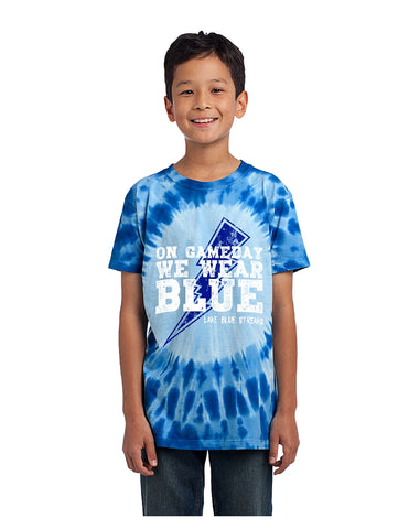 Youth Tie-Dye Tee - Game Day