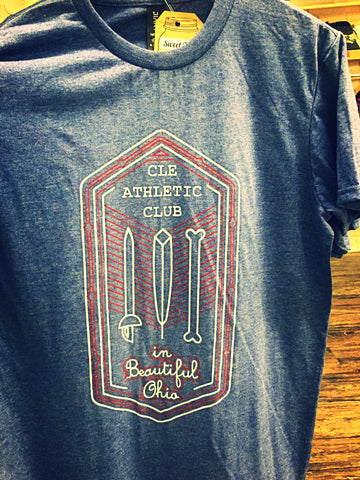 Cleveland Athletic Club Tee - Navy Heather
