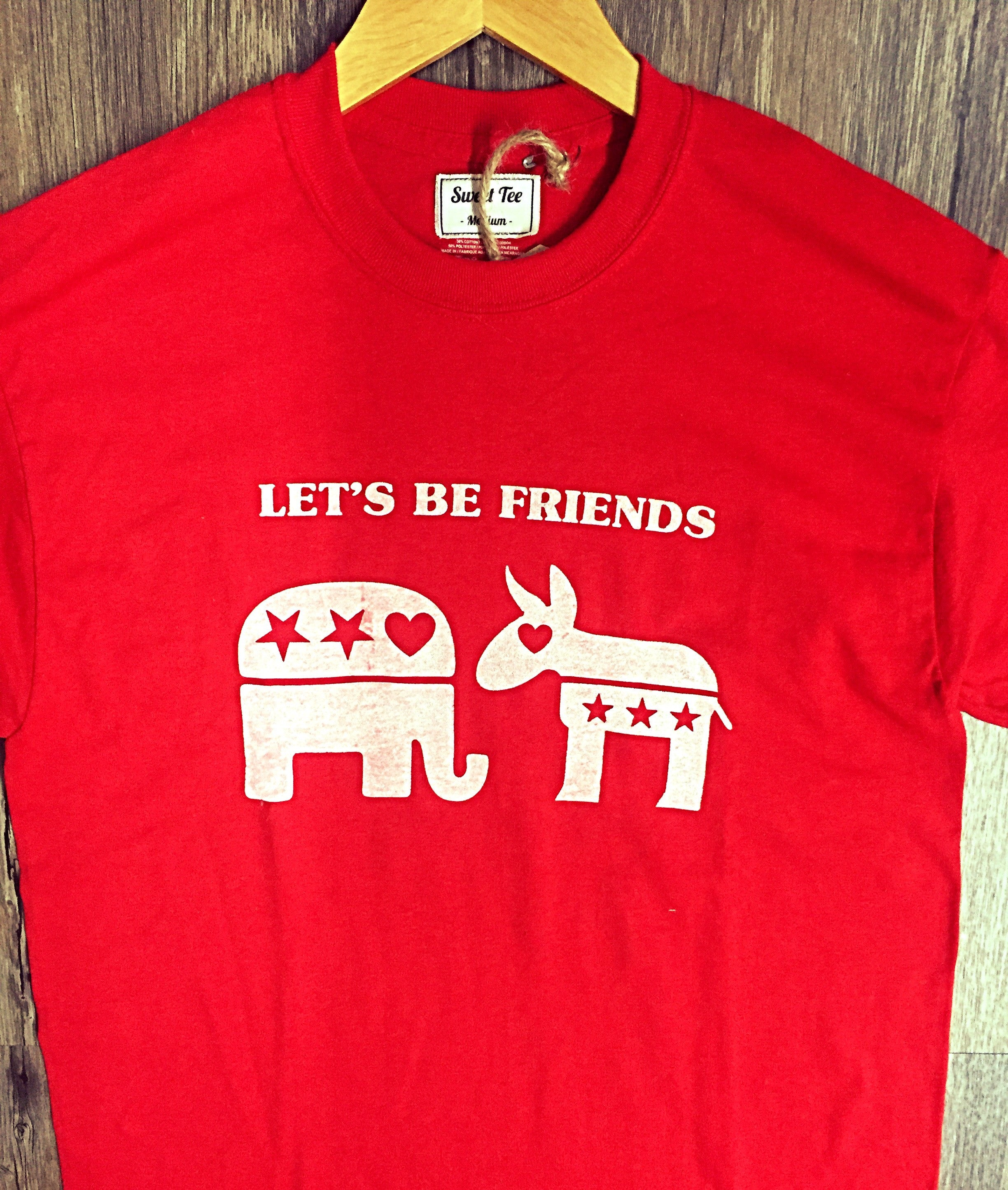 Let's Be Friends Tee